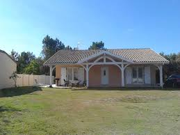 Casa chalet en las <b>Landas</b> a <b>5</b> km de la playa Has Private Yard and ...