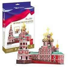 Купить 3D-пазл <b>CubicFun Рождественская церковь</b> (MC191h ...