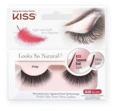 Kiss <b>Накладные ресницы Looks so</b> Natural Flirty — купить по ...