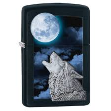 28879 zippo (США) | <b>Зажигалка Zippo Classic</b> Howling <b>Wolf</b> ...