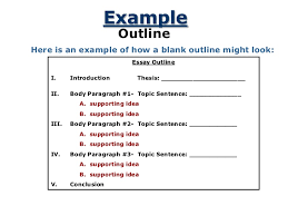 essay paragraph outline topic sentence   homework for you     essay paragraph outline topic sentence   image