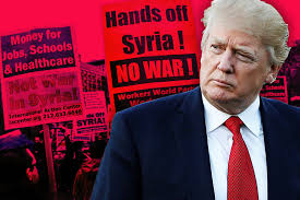 Image result for trump and syrian war