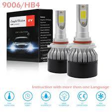 12V Headlight H7 <b>Halogen</b> Bulbs Replacement Parts <b>LED</b> Lights ...