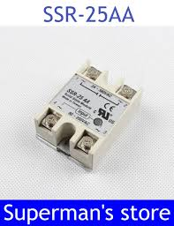 <b>1pcs Free shipping</b> solid state relay SSR 25AA 25A actually 80 ...