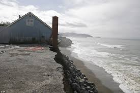 Image result for Pacifica's crumbling cliffs picture