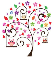 <b>Owl Tree</b> Floral Vector Images (over 620)
