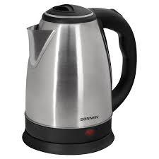 Купить <b>Чайник SONNEN</b> KT-118, 1,8 л, 1500 Вт, закрытый ...