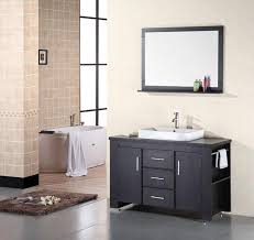 element contemporary bathroom vanity set: design element franklin  inch modern bathroom vanity set