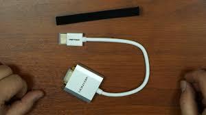 <b>Переходник</b> конвертер <b>Vention</b> HDMI - VGA - YouTube