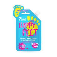 Купить <b>крем для пяточек и</b> пальчиков ног 7DAYS HAPPY FEET ...