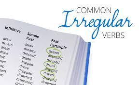 an english irregular verbs list pdf english irregular verb list