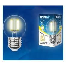 Светодиодные <b>лампочки</b> gauss, потребляемая мощность: <b>7</b>,5 Вт ...