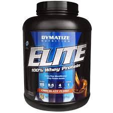 Dymatize Nutrition, <b>Elite</b>, <b>100</b>% <b>Whey Protein</b>, Chocolate Fudge, 5 ...