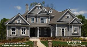 Garrell Associates  Inc  Tres Maison House Plan     Front    Garrell Associates  Inc  Tres Maison House Plan     Front Elevation  Traditional Style House Plans  Master Down House Plans     s f   Desig