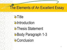 Thesis statement body paragraph conclusion Taos