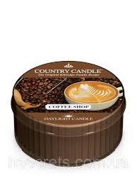 <b>Ароматическая свеча</b> Country Candle - <b>Coffee Shop</b>: продажа ...