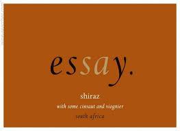 essay on africa tasting notes essay shiraz swartland south africa essay shiraz swartland south