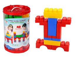Купить Детские <b>Конструктор</b> из <b>40 деталей Pilsan</b> Jumbo Magic ...