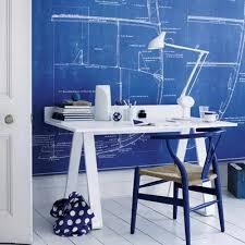 home office blue white blue white home office
