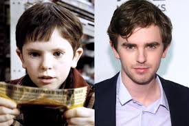 see the charlie and the chocolate factory kids then now freddie highmore charlie and the chocolate factory