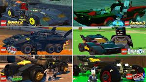 Batmobile <b>Evolution</b> in <b>LEGO</b> Videogames (w/All DLC) - YouTube
