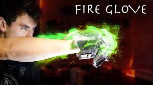 Homemade Green <b>Flame Glove</b>! (Next Level YouTube Boxing ...