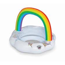 <b>Круг надувной детский BigMouth</b> Rainbow (4479529) - Купить по ...
