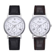 Lvpai <b>Fashion Watches Men</b> Leather Strap <b>Business</b> Casual Quartz ...