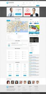 career guidance website templates themes premium careers job listing html website template