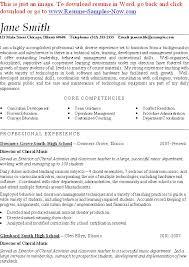 resume format for music teacher  seangarrette comusic teacher resume examples