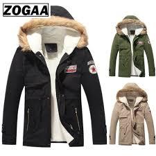 2019 <b>ZOGAA New</b> Autumn Winter Coat Thick Warm Jacket Men'S ...