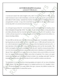 autobiography essay example autobiographical writing a new method how to write a autobiography how to write an autobiography essay examples