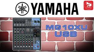 <b>YAMAHA MG10XU</b> - микшерный <b>пульт</b> с процессором эффектов ...