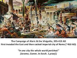 「alaric 3, sack of rome 410」の画像検索結果