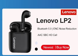 Original <b>Lenovo</b> LP40 Wireless Earphones Air Bluetooth5.0 <b>TWS</b> ...