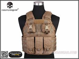 Hunting Heavy Vest <b>Emerson SPC Tactical</b> Vest Airsoft Molle ...