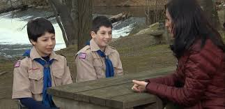 boy scout brothers describe saving scout leader from bear attack video two boy scout brothers save their scout leader from a bear attack