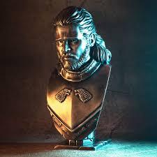 3D Printable <b>Jon Snow</b> bust by David Östman