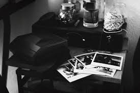 youth bw bedroom  postcards corentin schieb tags postcard polaroid film black white bw
