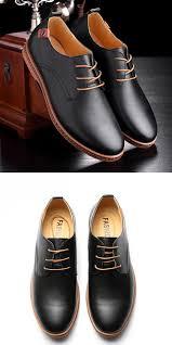<b>Large</b> US <b>Size</b> 7.5-12 <b>Men Business</b> Shoes Flat Casual Soft Oxfords ...