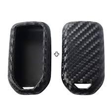 2Pack Silicone Carbon Fiber Pattern car Key case ... - Amazon.com