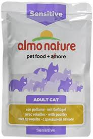 <b>almo nature</b> Cat <b>Functional</b> Pouch Sensitive with Poultry, 30 x 70 g ...