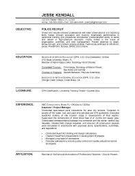 police officer resume sample objective   http     resumecareer    police officer resume sample objective   http     resumecareer info police officer resume sample objective      resume career termplate     pinterest