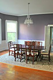 Dining Room Chair Rail Elegant Paint Ideas For Dining Room With Chair Rail On Interior