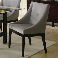 Low Dining Room Sets Black Wooden Chairs With Low Arm Rest And Light Green Seat Plus