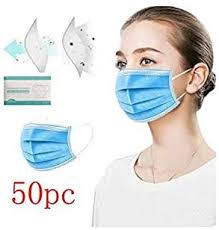 LULU99 Disposable Face Cotton, 50/100PCS 3 Layer ... - Amazon.com