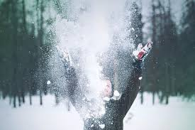 Image result for playing in the snow