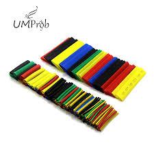 Super Deal #76d9 - 164Pcs Color <b>Polyolefin Shrink</b> Heat Shrinkable ...