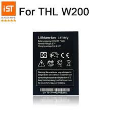 2019 New 100% IST Original <b>Mobile Phone Battery</b> For <b>THL</b> W200 ...