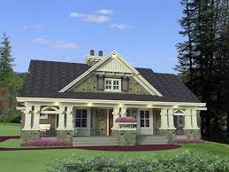 House Plan at FamilyHomePlans comCraftsman House Plan Elevation